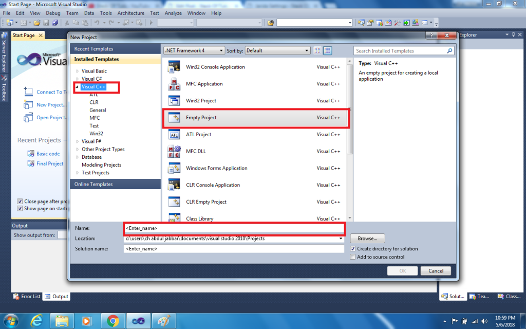 Visual Studio Include Library | OpenGL FreeGLUT and GLEW Download
