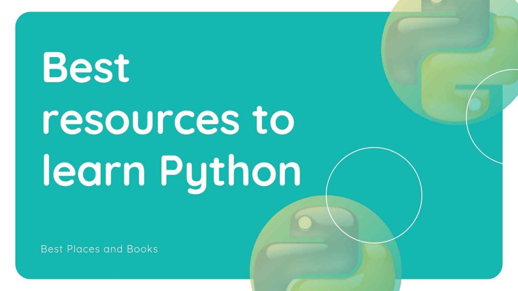 best resources to learn python