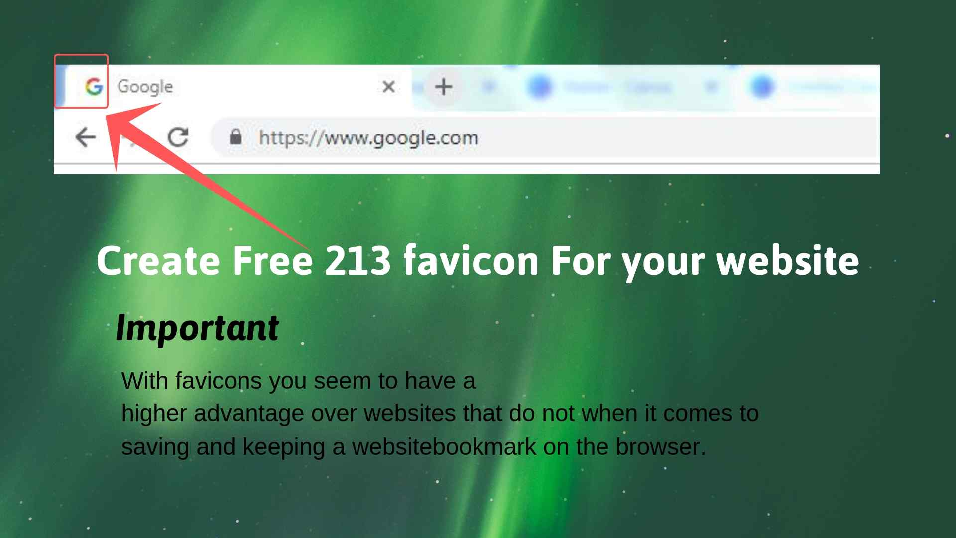 Create a favicon and importance favicon seo