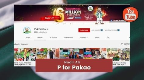 P for Pakao Top youtube channels in Pakistan