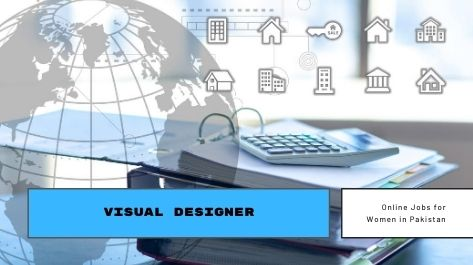 Visual Designer Online jobs for female students in Pakistan